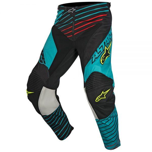 Pantaloni Alpinestars Racer Braap teal black