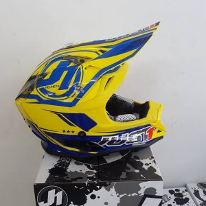 Casco Just 1 J32 Giallo blu